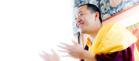 Dupsing Rinpoche - Chief Executive Director